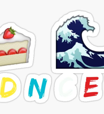 Cake By The Ocean DNCE Sticker