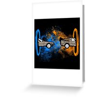 Portal Greeting Card