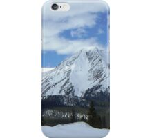 Mt Aetna from Monarch Pass iPhone Case/Skin