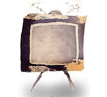 Steampunk Television Vintage  Photographic Print