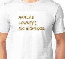 Akala & Lowkey & Mic Righteous White Gold (T-shirt, Phone Case & more) Unisex T-Shirt