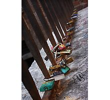 Rusty Love in Verona Photographic Print