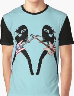 DUELING GUITARS my unique desing Graphic T-Shirt