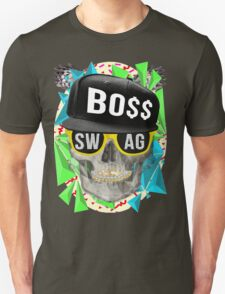 Triangle Swag Skull T-Shirt
