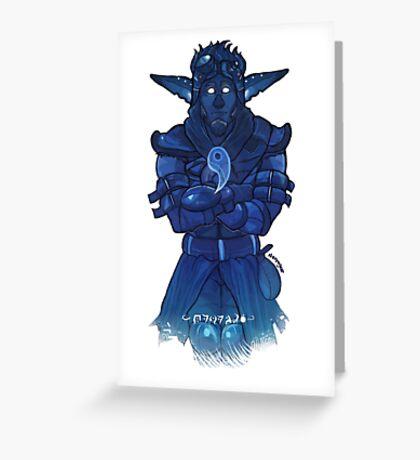Light Jak Greeting Card