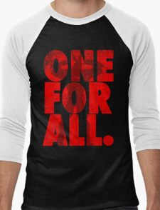All Might - One for all Men's Baseball ¾ T-Shirt