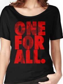 All Might - One for all Women's Relaxed Fit T-Shirt
