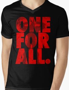 All Might - One for all Mens V-Neck T-Shirt