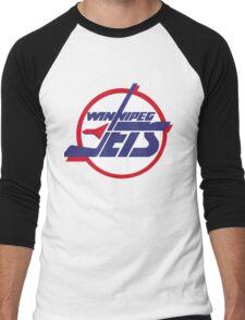 Winnipeg jets Men's Baseball ¾ T-Shirt