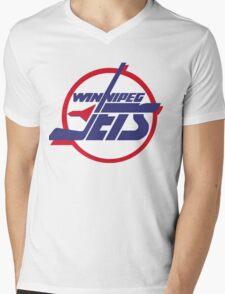 Winnipeg jets Mens V-Neck T-Shirt