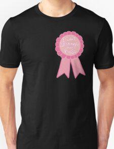 Didn't strangle my boss office work business prize adult tumblr ribbon award Unisex T-Shirt