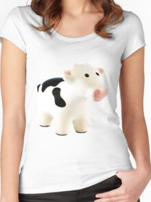Moo cow Women's Fitted Scoop T-Shirt