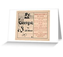 Artist Posters Irresistibly funny The wittiest humor of the year 0929 Greeting Card