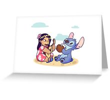 Lilo and Stitch Greeting Card