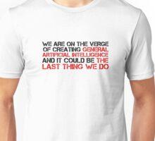 AI Artificial Intelligence Dangerous Politics Science  Unisex T-Shirt