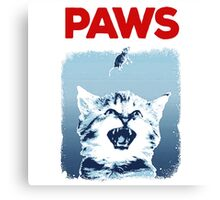 Kitty Jaws Canvas Print