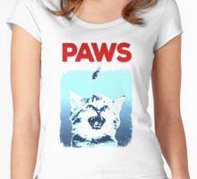 Kitty Jaws Women's Fitted Scoop T-Shirt