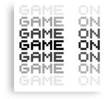 Game On Gaming Geek Video Games PC Playstatopn XBox Metal Print