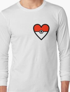 Pokéheart Long Sleeve T-Shirt