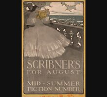Artist Posters Scribner's for August mid summer fiction number 1013 Unisex T-Shirt