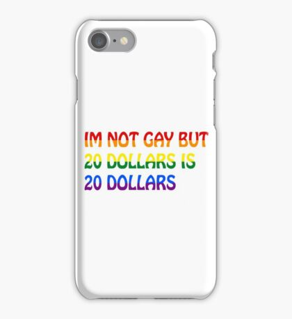 Funny Gay Humour Comedy Joke  iPhone Case/Skin