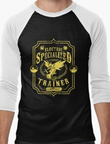 Electric Specialized Trainer Men's Baseball ¾ T-Shirt