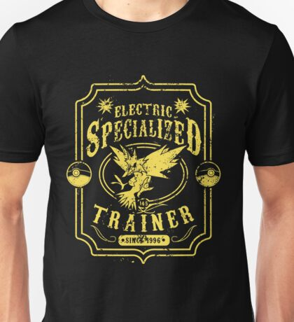 Electric Specialized Trainer Unisex T-Shirt