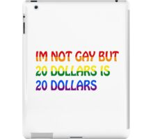 Funny Gay Humour Comedy Joke  iPad Case/Skin