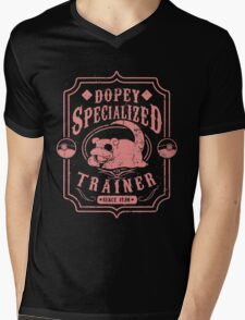 Dopey Specialized Trainer Mens V-Neck T-Shirt