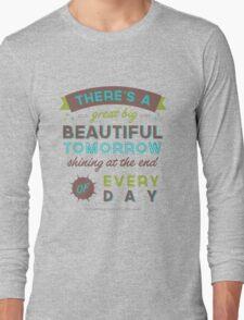 Beautiful Tomorrow (For light backgrounds) Long Sleeve T-Shirt