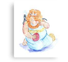 Khaleesi Bombur Canvas Print