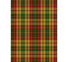 00237 Strathearn District Tartan  Photographic Print