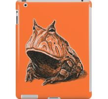 Orange Frog iPad Case/Skin