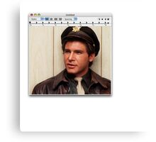 Harrison Ford Mac Canvas Print