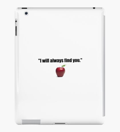 Once Upon A Time Quote iPad Case/Skin