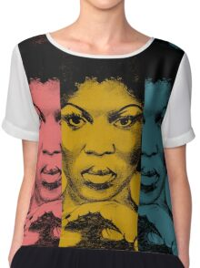 Afro Woman Chiffon Top