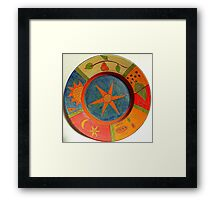 Hot Mexican Colours Framed Print