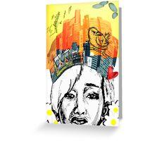 Nam Taehyun King of the City Greeting Card