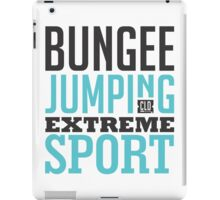 Bungee Jumping Extreme Sport iPad Case/Skin