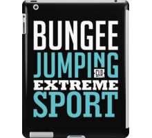 Bungee Jumping Extreme Sport Graphic Art iPad Case/Skin