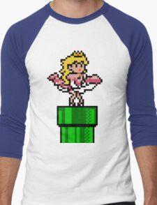 Princess Monroe Men's Baseball ¾ T-Shirt