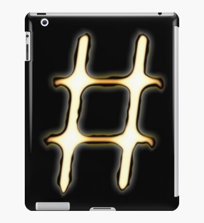 #Tag iPad Case/Skin