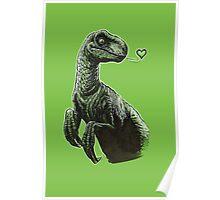 Raptor Kisses Poster