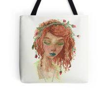 Floral Headwear Tote Bag