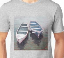Sailing Boats, North Berwick Harbour, Scotland Unisex T-Shirt