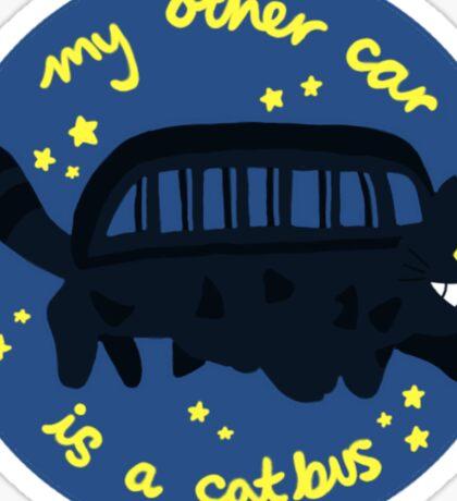 Catbus bumper sticker  Sticker