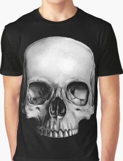 Half Skull Graphic T-Shirt