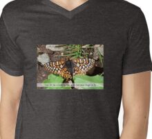 Butterfly in Arizona Mens V-Neck T-Shirt
