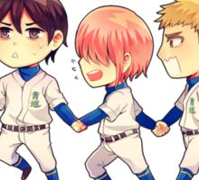 Daiya no Ace 1st year Sticker