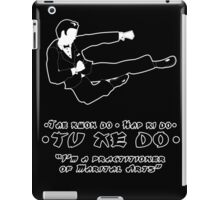 Tu Xe Do - The Marital Art iPad Case/Skin